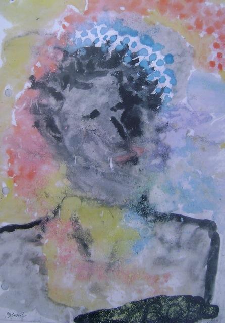 dylan in chalk